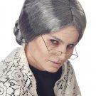 Psycho Grandma Old Lady Adult Costume Wig #70054