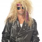 Heavy Metal Rocker Adult Costume Wig #70544_Blonde