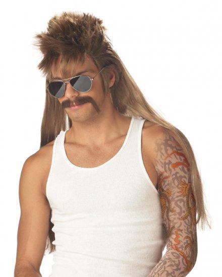 Mississippi MudFlap Sideburn Adult Costume Wig #70563