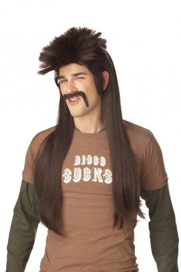 Mississippi Mud Flap Mullet Adult Costume Wig #70516