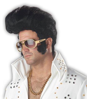 Elvis Presley Rock N Roll Adult Costume Wig #70035