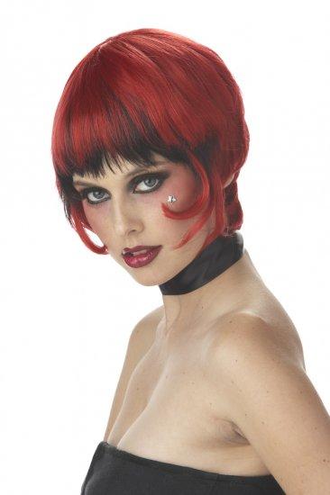 Punk Rock Scandalous Pop Star  Costume Wig