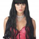 Serpentine Ariel Mermaid Adult Black Costume Wig #70397