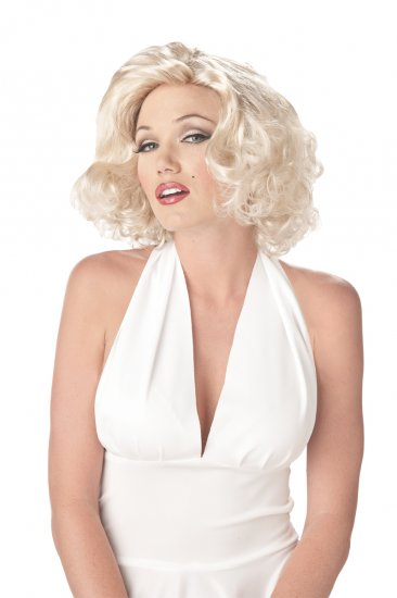 Sexy Marilyn Monroe Adult Costume Wig #70167