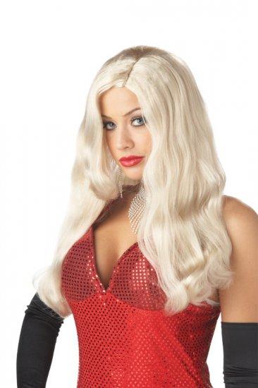 Jessica Rabbit Silver Screen Sinsation Adult Costume Wig # 70469