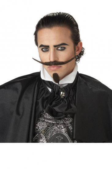 The Dandy Western Cowboy Costume Moustache & Beard #70484