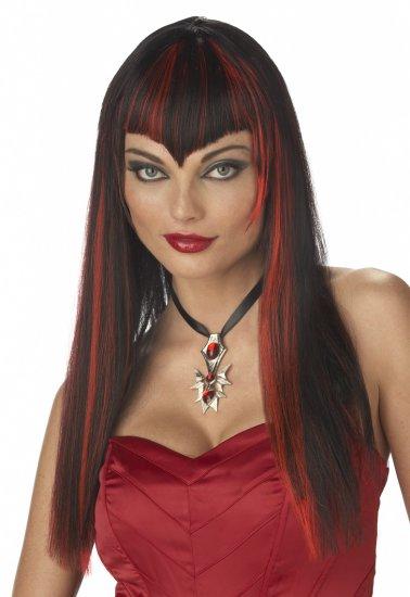 Vivacious Vampire Gothic Dracula - Costume Wig