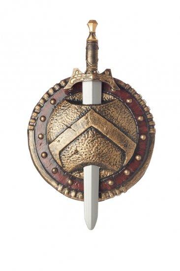 #60472 Spartan Combat Shield & Sword Costume Accessory