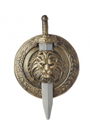 "#60501 Gladiator Combat 18"" Shield & Sword  Costume Accessory"