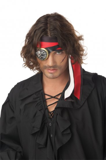 Pirate Eye Patch Adult Costume Accessory