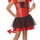 Devil Darling Child Costume Size:  Large #00235