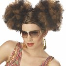 #70187  Disco Puffs Adult Costume Wig