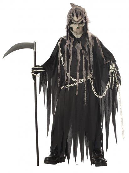 Soul Taker Mr. Grim Reaper Child Costume Size:  Large #00231
