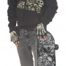 Skater Bone Head Tween Child Costume Size: X-Large