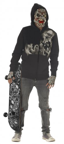 Skateboard Rotten Attitude Tween Child Costume Size: Large #04042