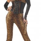 Dressed to Kill Cat Woman Leopard Adult Costume Size: Large #00857