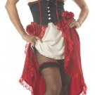 Size: Medium #00861 Western Saloon Latina Cantina Gal  Adult Costume