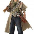 Zombie Hunter Walking Dead Child Costume Size: Large #00211