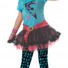 80's Valley Girl Punk Rock Tween Child Costume Size: Large #04020