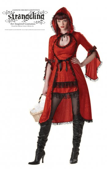 Strangeling Red Riding Hood  Adult Costume Size: Medium #00976