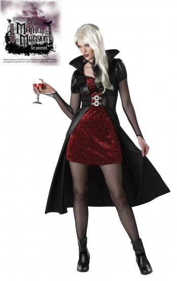 Blood Thirsty Beauty Vampire Adult Costume Size: Medium #01094