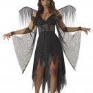 Dark Gothic Wicked Angel Adult Costume Size: Medium #00872