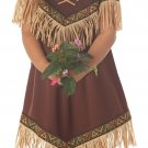 Pocahontas Native American Indian Princess Toddler Costume Size:  Medium # 00086