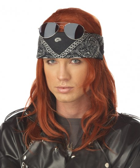 Rock and Roll or  Punk Rock Costume Wig #70596