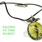 Real Scorpion Necklace that Glows in Dark - Valentine Gift