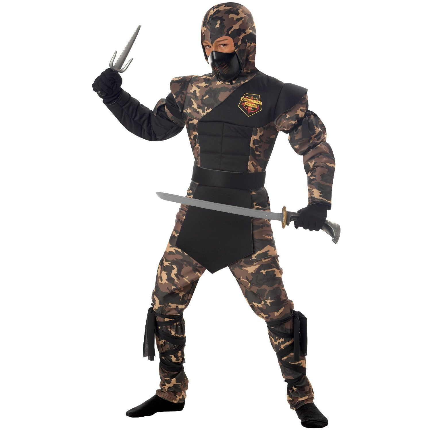 Special Ops Ninja Child Costume Size: Medium #00326