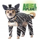 Safari Zebra Dog Costume Size: Medium #20100