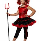 Sassy Devil Child Costume Size: Large #00290