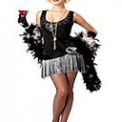 Fashion Flapper Adult Costume Size: Large # 01118