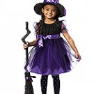 Charmed Witch Toddler Costume Size: Large #00091