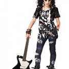 Rocked Out Zombie Punk Rock Tween Child Costume Size: X-Large #04047