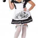 Gothic Dark Alice in Wonderland Adult Plus Size Costume: 2X-Large #01698