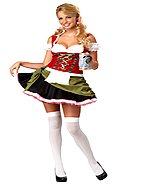 Oktoberfest Bavarian Bar Maid Adult Costume Size: Medium #01135