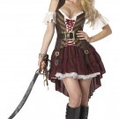 Sexy Swashbuckler Pirate Adult  Costume Size: Small #01164