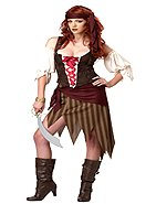 Buccaneer Beauty Pirate Adult Costume Size: Medium #01124