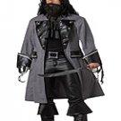 Size: X-Large #01131  Jack Sparrow Captain Blackbeard, The Pirate Adult Costume