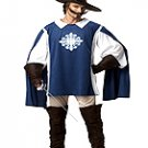 Size: Large #01130  Renaissance Medieval Knight Three Musketeer Adult Costume