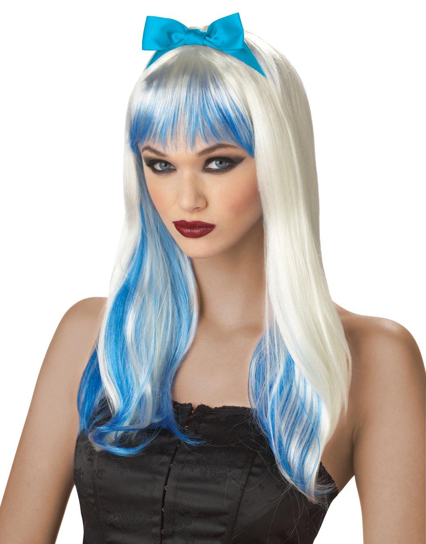 Gothic Enchanted Tresses Costume Adult Wig #70038_Blue