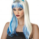 Gothic Enchanted Tresses Costume Adult Wig #70038_Blue