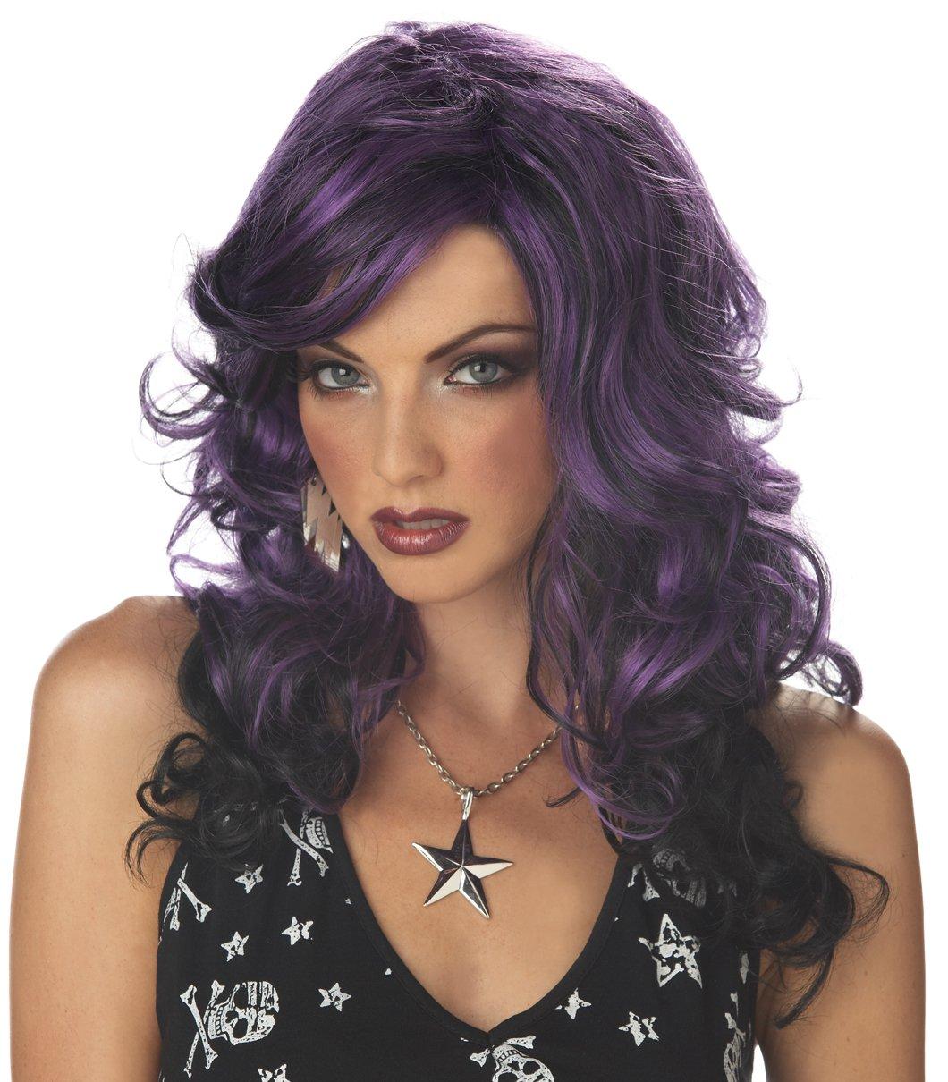 Rock Vixen Punk Star Adult Costume Wig