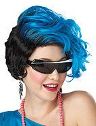 Katey Perry 80's New Waves Adult Costume Wig