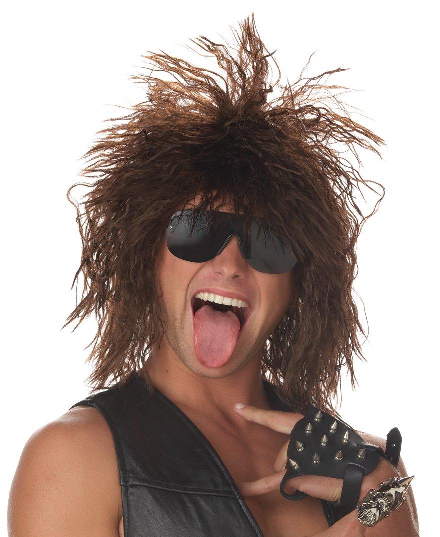 Rockin' Dude Rock Star Adult Costume Wig #70264