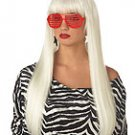 Pop Angel Lady Gaga Rock Star Adult Costume Wig #70577