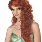 Ariel Mermaid Adult Auburn Costume Wig #70200