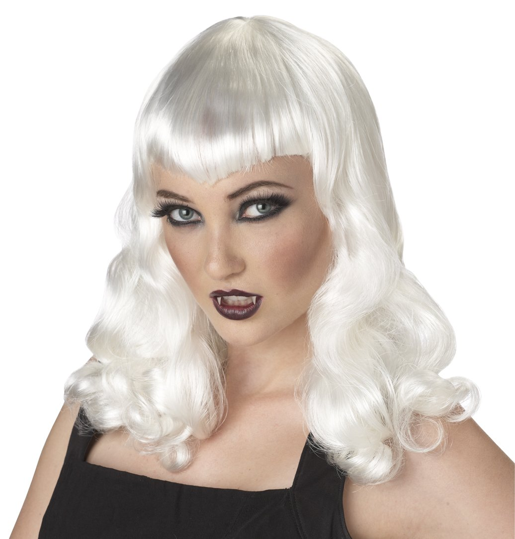 Dark Gothic Eternal Desire Vampire Dracula Adult Costume Wig #70616