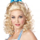 Sweet Farm Girl Adult Costume Wig - Blonde